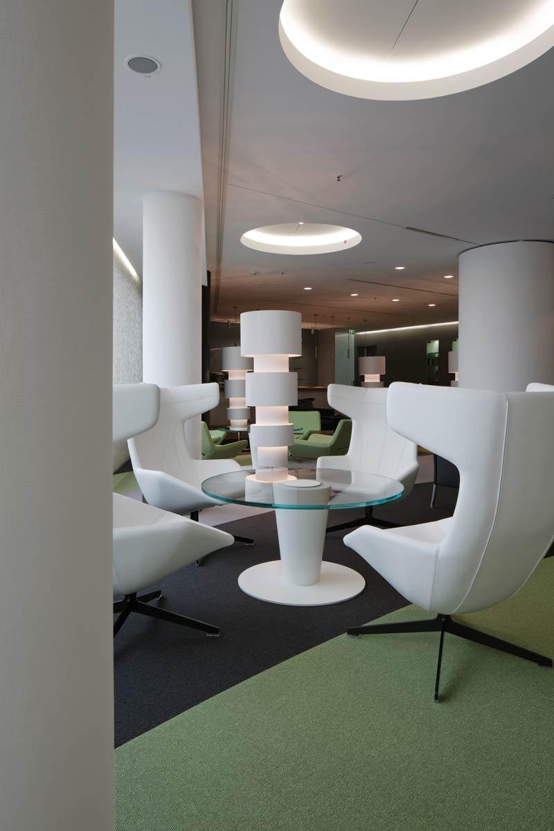 Vip lounge messe frankfurt in zusammenarbeit mit ramseier for Interior design frankfurt
